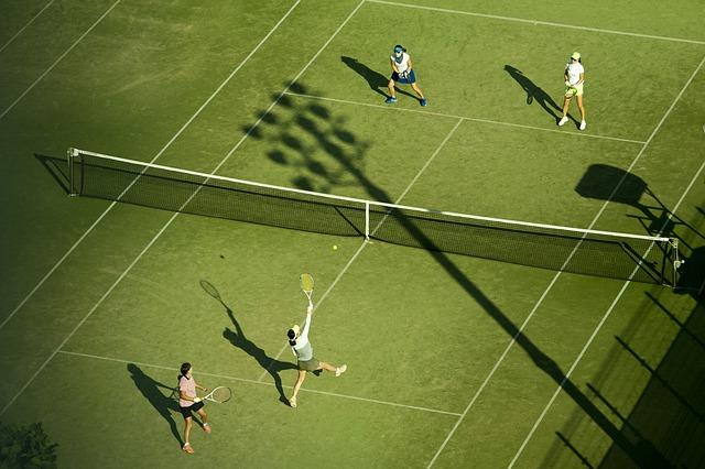 tenisové hřiště